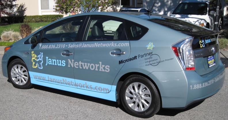 A Janus Networks Prius Plug-in