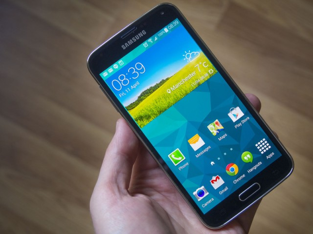 Galaxy s5 content