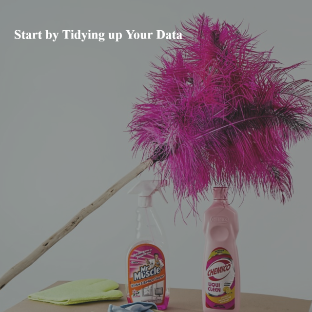 Tidy Up Your Data