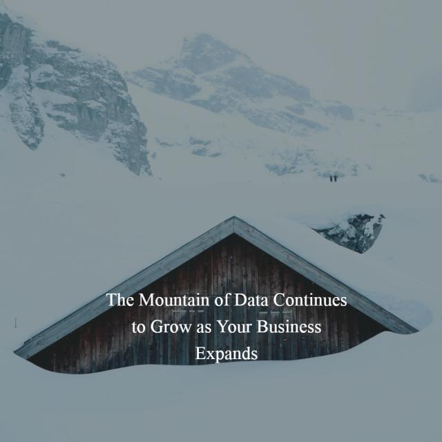 Mountain of Data